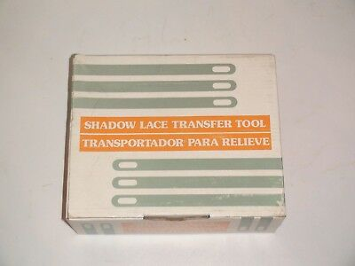 Knitting Machine Accessory: Shadow Lace Tool For Any Standard Gauge Machine (2)