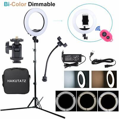 LED Ring Light Kit Eclairage Lumiere pour Video Photo Studio avec trépied 35W