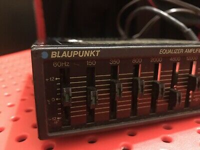 Blaupunkt BEA 80 Equalizer EQ Fully Working Out Of An Audi Quattro Tested Retro