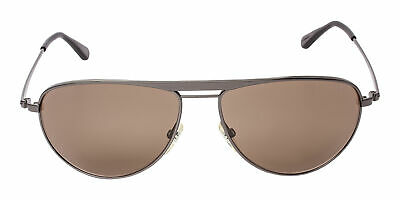 875e116d4 Tom Ford William FT 0207 124 09J Dark Metal Frame Brown Lens Sunglasses