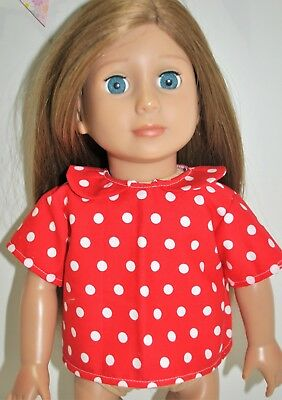 American Girl Dolls Our Generation Journey 18 Inch Doll Clothes Peter Pan Shirt