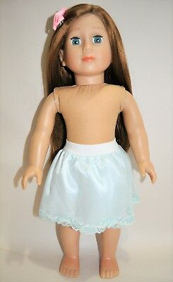 American Girl Doll Our Generation Journey 18 Dolls Clothes Ice Blue Lace Skirt