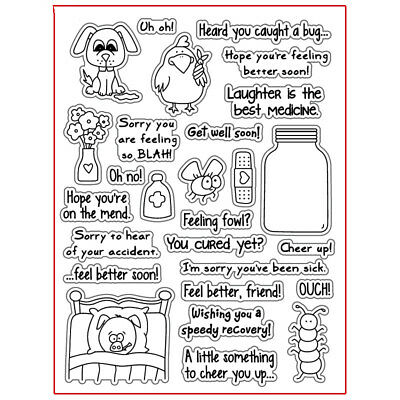 Scrapbook DIY photo cards account rubber stamp clear stamp transparent Handmade