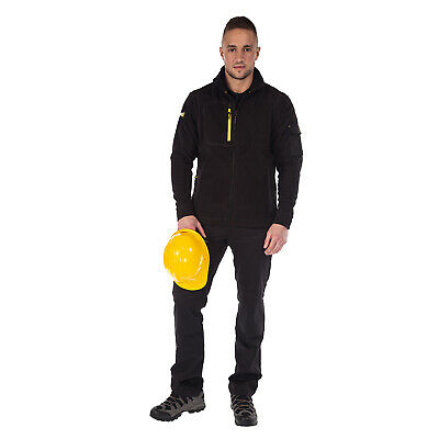 Full Zip Fleece tough RG507 men Workwear warm winter Regatta Sitebase Fleece
