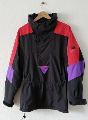 7f1d8b06a VTG 90S THE NORTH FACE EXTREME Mens SM / MED Jacket Colorblock Hooded  Pullover