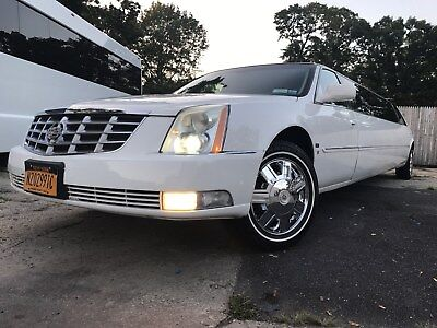 "2008 Cadillac DTS Limo 2/1/19 Price Lowered: 2008 CadillacDTS 130"" Limousine by Tiffany Coachbuilders"