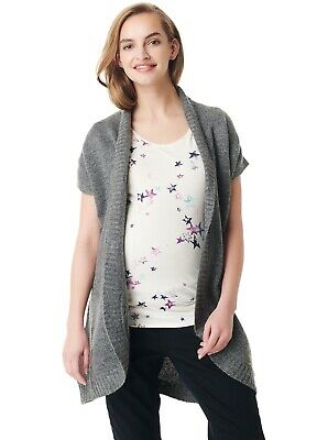 New - Esprit - Short Sleeved Knit Maternity Cardigan - Pregnancy Clothes