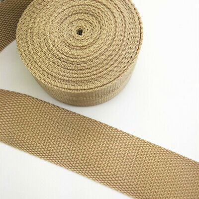 New Hot 5 Yards Length 1 Inch (25mm) Width Sewing Nylon Webbing Strapping Khaki