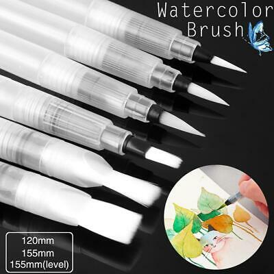 Portable Artist Brush Drawing Watercolor Paint Brushes Plastic Water Storage