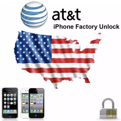 Premium FACTORY UNLOCK SERVICE AT&T CODE ATT for IPhone 5 6 6s SE 7 8 X XR XS 11