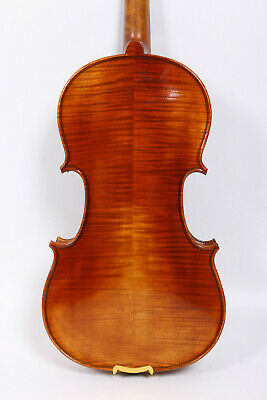 Master Violin 4/4 Full Size Handmade Flame Maple Back Russian Spruce Top #3132