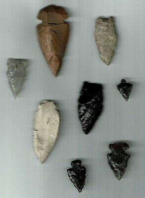Authentic  Native American  Arrowheads