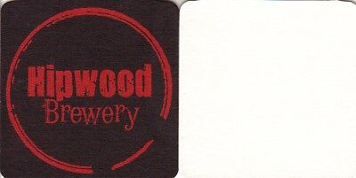 Hipwood Brewery Square Coaster - Beer Mat