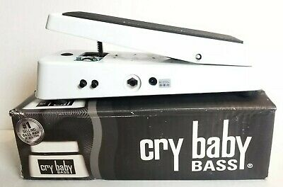 Used Dunlop Cry Baby Bass Guitar Wah Wah Pedal Model 105Q