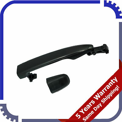Front RH Textured Black Outside Door Handle w//o Keyhole for Toyota Sienna 04-10