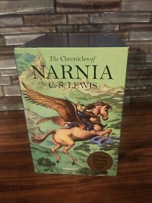 THE CHRONICLES OF NARNIA Collector's Edition Box Set C.S. Lewis full-color 1-7