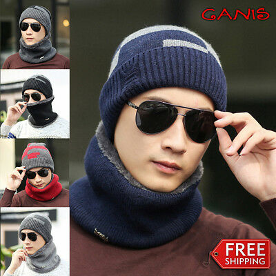 2b37c1d918c New Unisex Men Beanie Hat Hip-Hop Wool Knitted Ski Skull Warm Winter Cuff  Cap