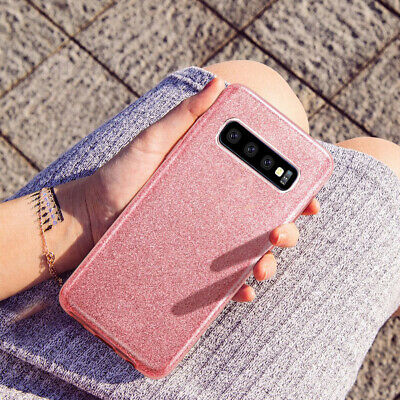 For Samsung Galaxy S10 Plus S10e Case Hybrid Clear 3D Sparkle Bling Women Cover