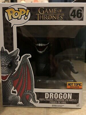 Funko Pop Game Of Thrones Drogon 6 Inch Hot Topic Exclusive 💥 In Hand 💥
