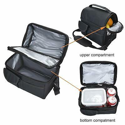 Insulated Lunch Bag Meal Prep Bag Cooler Lunch Box Carry Tote School Picnic Work