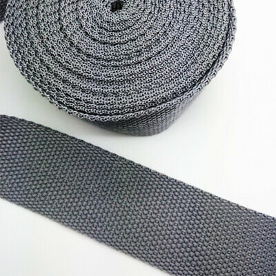 New Hot 5 Yards Length 1 Inch (25mm) Width Sewing Nylon Webbing Strapping gray