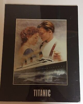 Titanic Poster Romantic Collector's Edition Chromium Print Foiled Etched Shimmer