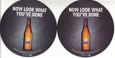 Arvo Beer - Now Look What You've Done Round Coaster - Beer Mat