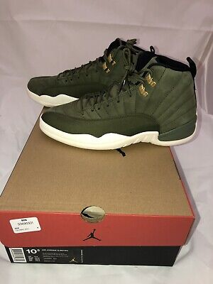 99afa3265b98 Nike Air Jordan Retro XII 12 CP3 Class of 2003 Olive Sail 130690-301 Chris