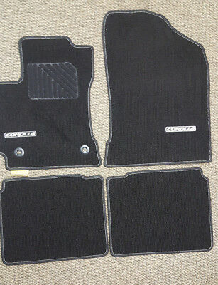 New Genuine Oem Toyota Corolla Floor Mats Carpeted 2017 2016 2018 2019