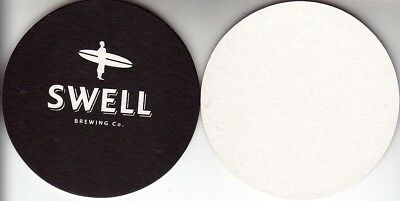 Swell Brewing Co Ver 1 Round Coaster  Beer Mat