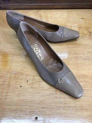 93478d377b3 NEW VINTAGE SALVATORE Ferragamo for Saks Fifth Avenue Pumps 8.5 B ...