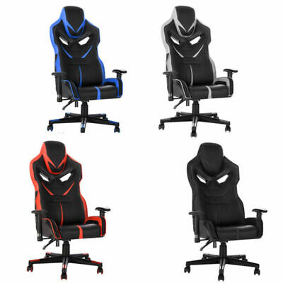 Panana Swivel PU Leather Office Chair Sport Racing Gaming Game Computer Seat