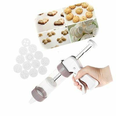 LaceDaisy Cookie Maker Press Gun Kit - Multifunctional Comfort Grip Cookie Pr...