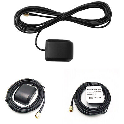 GPS Sat Nav Active Aerial Antenna SMA Male Connector Cable For Car Head Unit SPM
