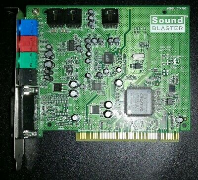 CREATIVE SOUND BLASTER PCI 512 DRIVERS FOR PC