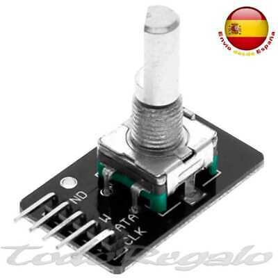 Codificador Rotatorio Con Switch Eje Pulsador Rotary Encoder Para Arduino New