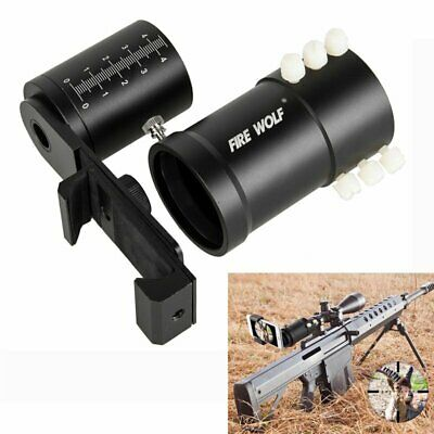 Rifle Scope Smartphone Mount System Adapter for Phone Camera Mount Black New
