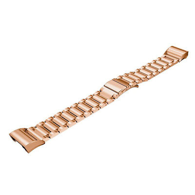 for Fitbit Charge 2 Bands Replacement Strap, Loop Stainless Steel Wristband Q7J8