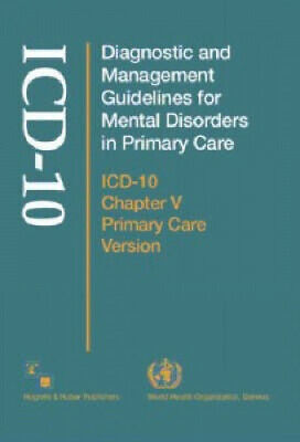 Diagnostic and Management Guidelines for Mental Disorders in Primary Care: