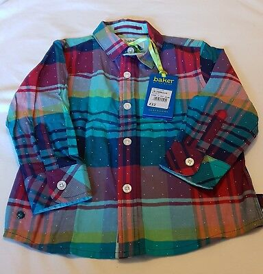Baker By Ted Baker Boys Shirt Size 18-24 Months BNWT