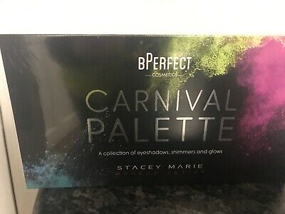 BPerfect Cosmetics Stacey Marie Carnival Palette Master Palette  FACTORY SEALED