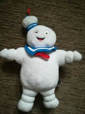 """Official GHOSTBUSTERS 12/"""" Plush SOFT TOY Logo Stay Puft Slimer"""