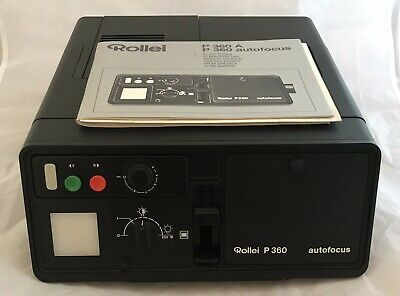 Fantastic Rollei P360A 35mm Slide Projector, Top of the Range, Timer, Remote etc