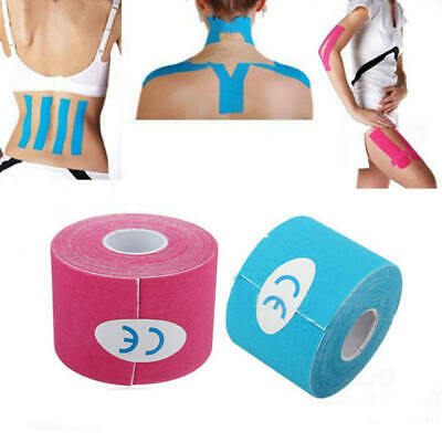5CM*5M  Multicolor Sport  Muscle Tape Roll Cotton Elastic Muscle Bandage Support