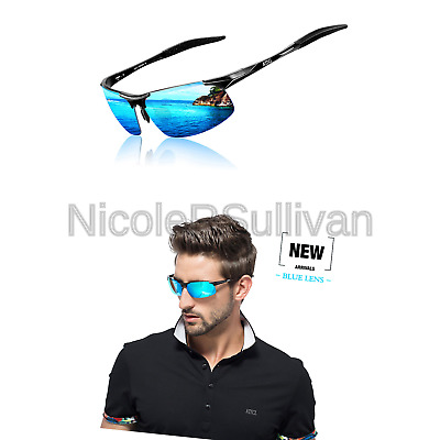 944eb5b900e ATTCL Men s HOT Fashion Driving Polarized Sunglasses for Men Al-Mg Metal  Fram.