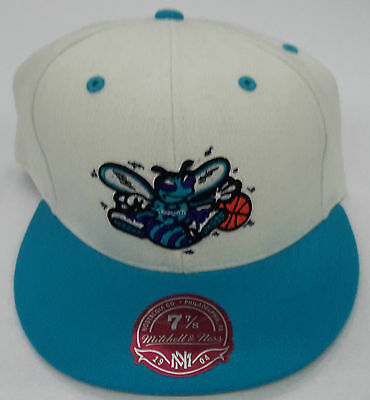 NBA New Orleans Hornets Mitchell And Ness Cappello Bicolore in Lana  Aderente M N 328ed0048253