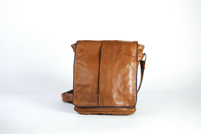 TIMBERLAND LARGE TABLET Brown Cross Body Shoulder Bag Work Wallet ... 6d2df148d5cc5