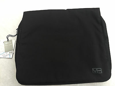 """MH Way Pronto briefcase/packpack """"17 black"""