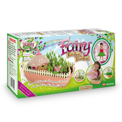 Fairy Kitchen Garden Grow Harvest & Eat Playset