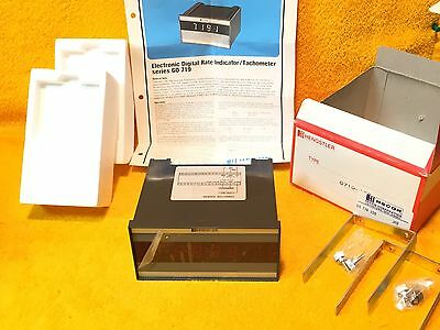 New Hecon Corp. Hengstler G0 719 100 Electronic Digital Counter J6D